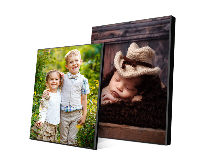 photo printed on picture plaques